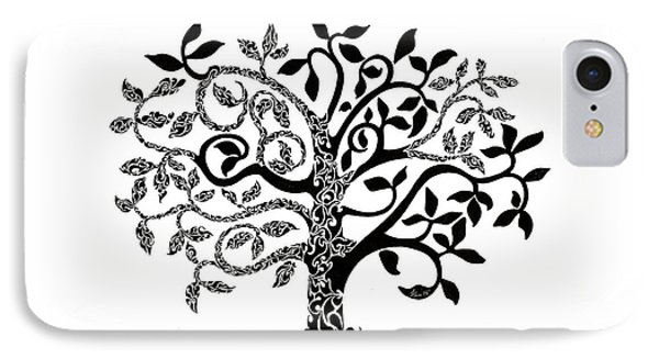 Tree Of Life IPhone Case by Anushree Santhosh