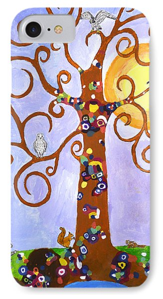 Gustav Klimt Tree Of Life Phone Case by Ethan Altshuler