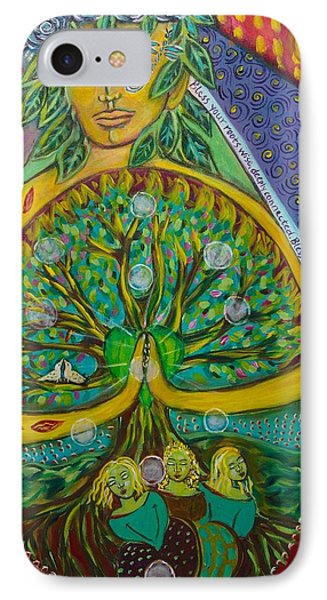 Tree Of Life Phone Case by Havi Mandell