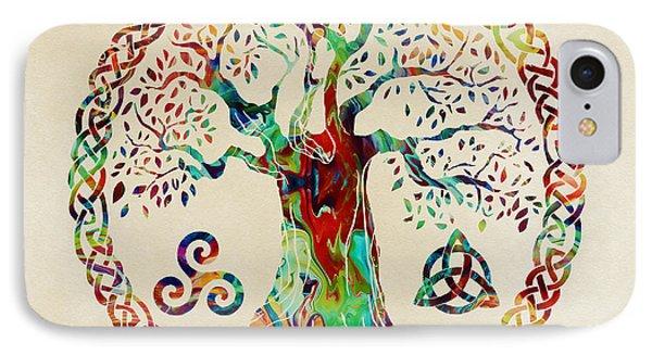 Tree Of Life IPhone Case by Olga Hamilton
