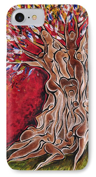 Tree Of Life Phone Case by Sherrell Cisco