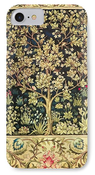 Tree Of Life IPhone Case by William Morris