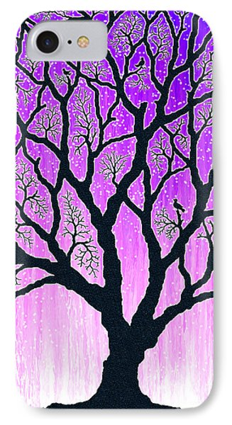 IPhone Case featuring the digital art Tree Of Light 2 by Cristophers Dream Artistry