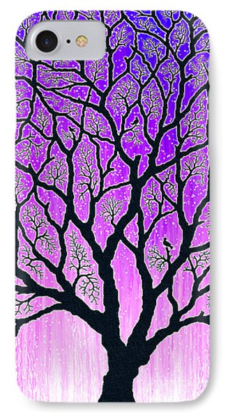 IPhone Case featuring the digital art Tree Of Light by Cristophers Dream Artistry
