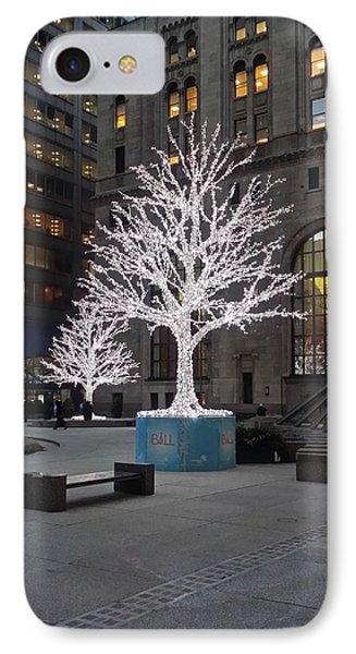 Tree Of Lights I IPhone Case