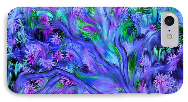 Tree Of Peace And Serenity IPhone Case by Sherri's Of Palm Springs