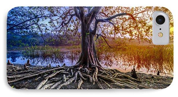 Tree Of Souls Phone Case by Debra and Dave Vanderlaan