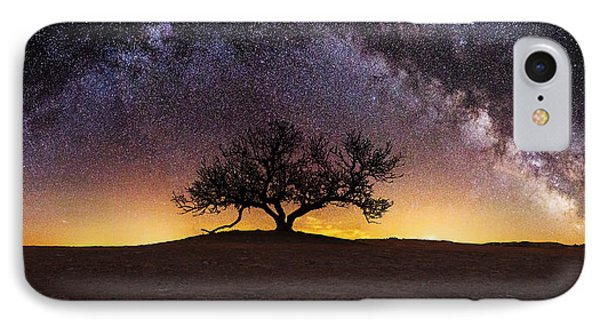 Tree Of Wisdom IPhone Case by Aaron J Groen