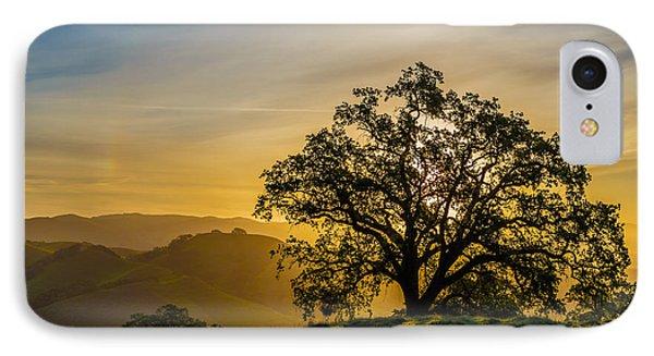 Tree On A Ridge IPhone Case by Sarit Sotangkur
