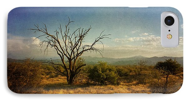 Tree On Caballo Trail IPhone Case by Marianne Jensen