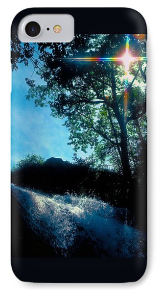 Tree Planted By Streams Of Water IPhone Case by Marie Hicks