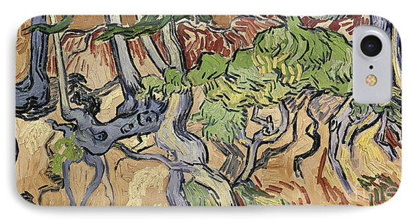 Tree Roots Phone Case by Vincent Van Gogh