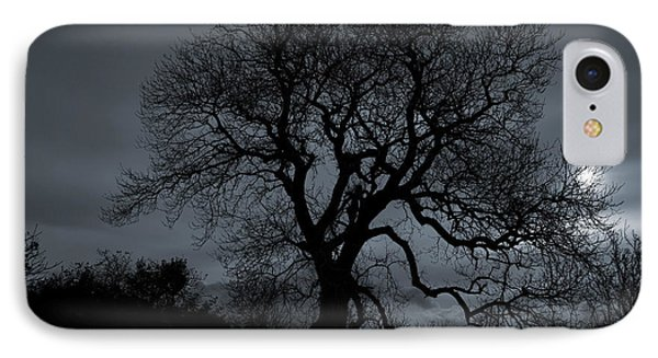 Tree Silhouette Phone Case by Ian Mitchell