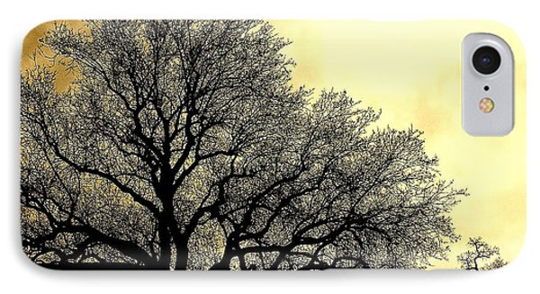 Tree Silhouette IPhone Case