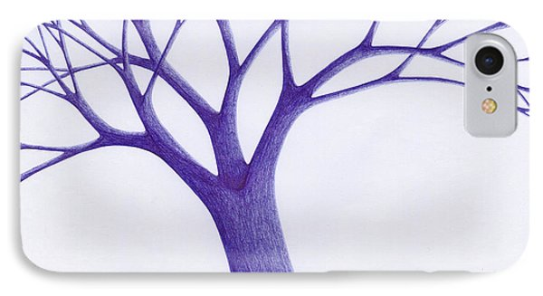 Tree - The Great Hand Of Nature IPhone Case by Giuseppe Epifani