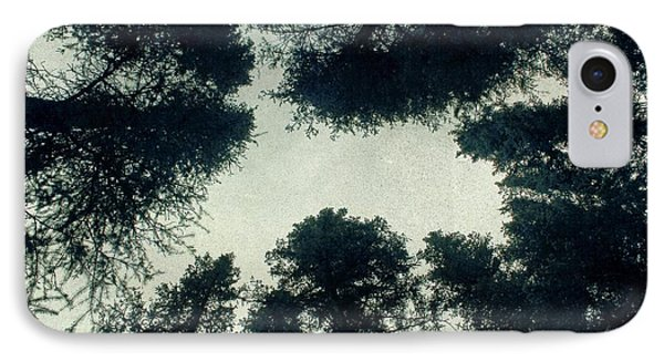 Tree Tops IPhone Case by Brett Pfister