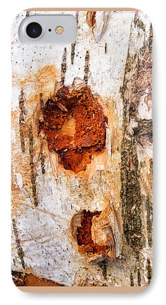 Tree Trunk Closeup - Wooden Structure Phone Case by Matthias Hauser