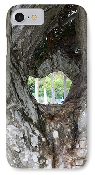 IPhone Case featuring the photograph Tree View by Rafael Salazar
