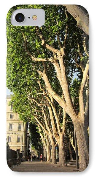 Treed Avenue Phone Case by Pema Hou