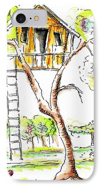 Treehouse IPhone Case by Jason Nicholas