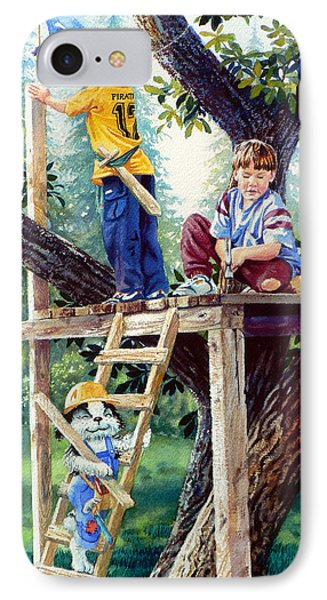 Treehouse Magic Phone Case by Hanne Lore Koehler