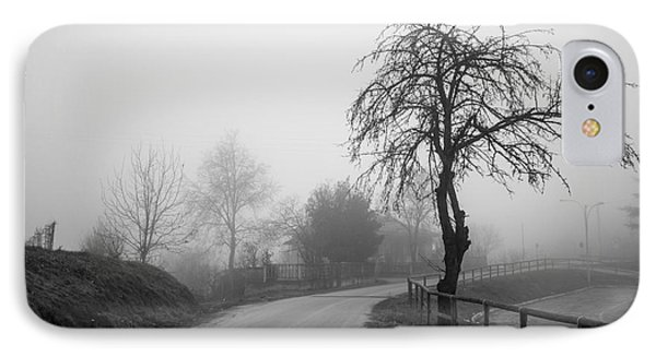 Trees And Fog IPhone Case