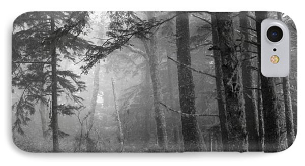 IPhone Case featuring the photograph Trees And Fog by Tarey Potter