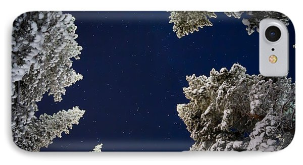 Trees And Stars, Cold Temperatures IPhone Case