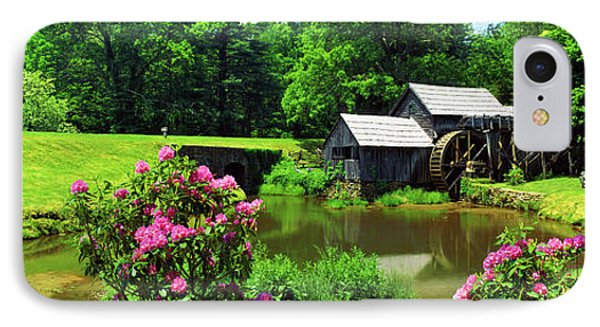 Trees Around A Watermill, Mabry Mill IPhone Case by Panoramic Images