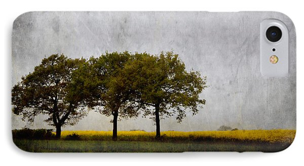 Trees At Sunrise Phone Case by Carol Leigh