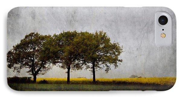 Trees At Sunrise IPhone Case