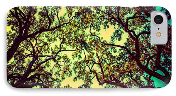 Trees Closing In IPhone Case by J Riley Johnson