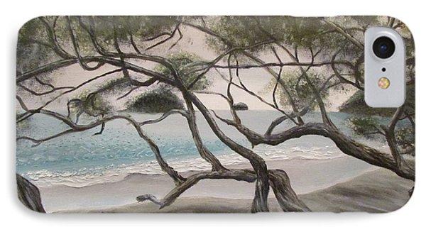 Trees In Costa Rica IPhone Case by Svetlana Rudakovskaya