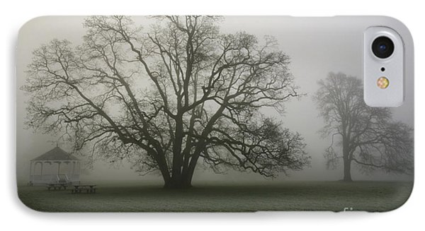 Trees In Fog IPhone Case by Rich Collins