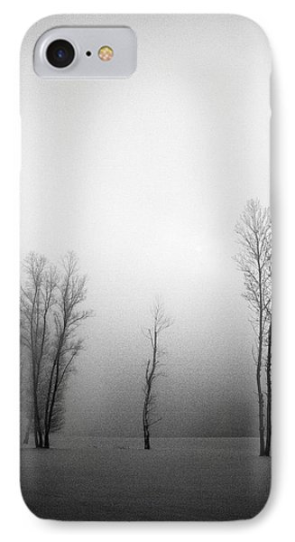 Trees In Mist Phone Case by Davorin Mance