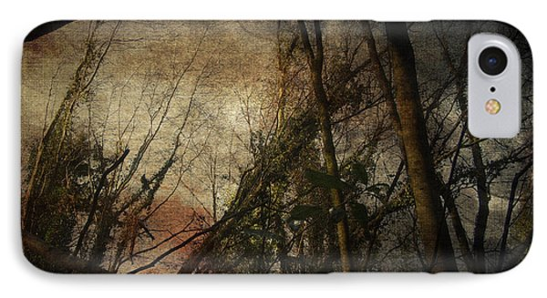 IPhone Case featuring the digital art Trees No. 5 by Andy Walsh