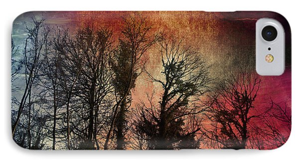 IPhone Case featuring the digital art Trees No.7  by Andy Walsh