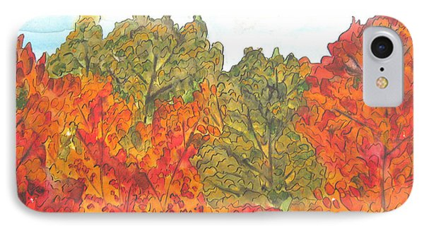 Trees Of Fall IPhone Case