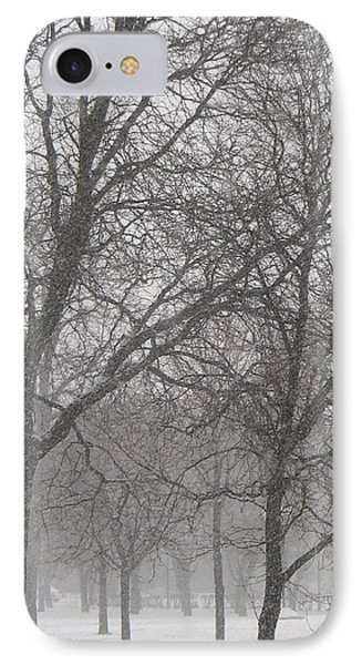 Trees Of Silence IPhone Case