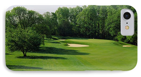 Trees On A Golf Course, Baltimore IPhone Case by Panoramic Images