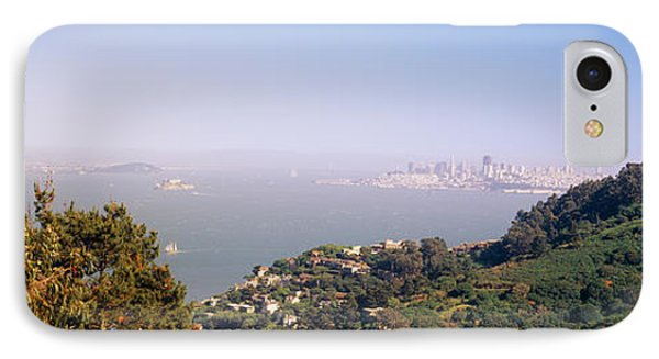Trees On A Hill, Sausalito, San IPhone Case