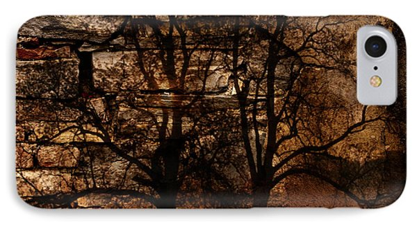 Trees Painting IPhone Case by Marvin Blaine