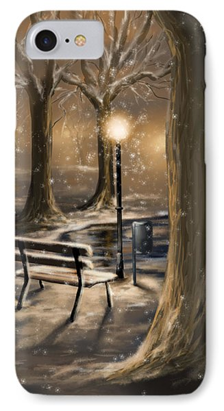 Trees IPhone Case by Veronica Minozzi