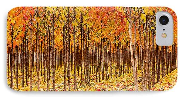 Treescape 2 IPhone Case by Rebecca Cozart