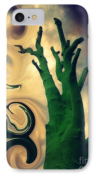 Treeswirl IPhone Case by Susan Townsend