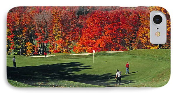 Treetops Golf IPhone Case by Dennis Cox WorldViews