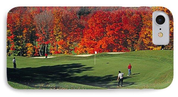 Treetops Golf IPhone Case
