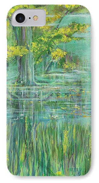 IPhone Case featuring the painting Treeversable by Cathy Long