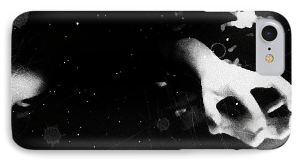 Trepidation Phone Case by Jessica Shelton