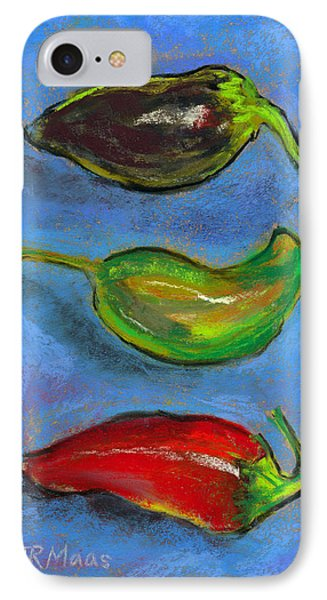 Tres Peppers IPhone Case by Julie Maas